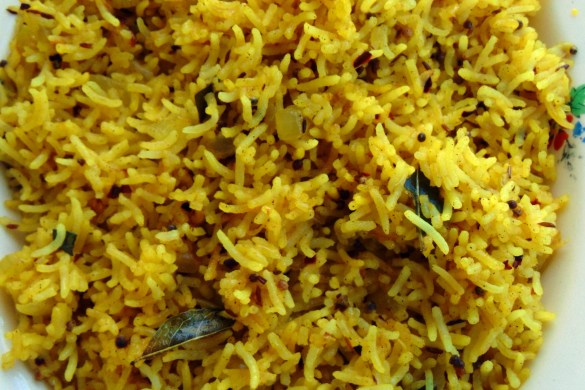 Indian Restaurant Style Rice