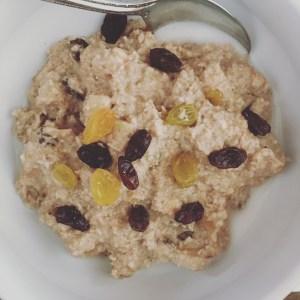 The Whole 30 Oat-less Oatmeal