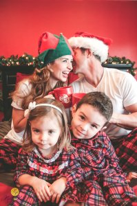 The truth behind great Christmas photos