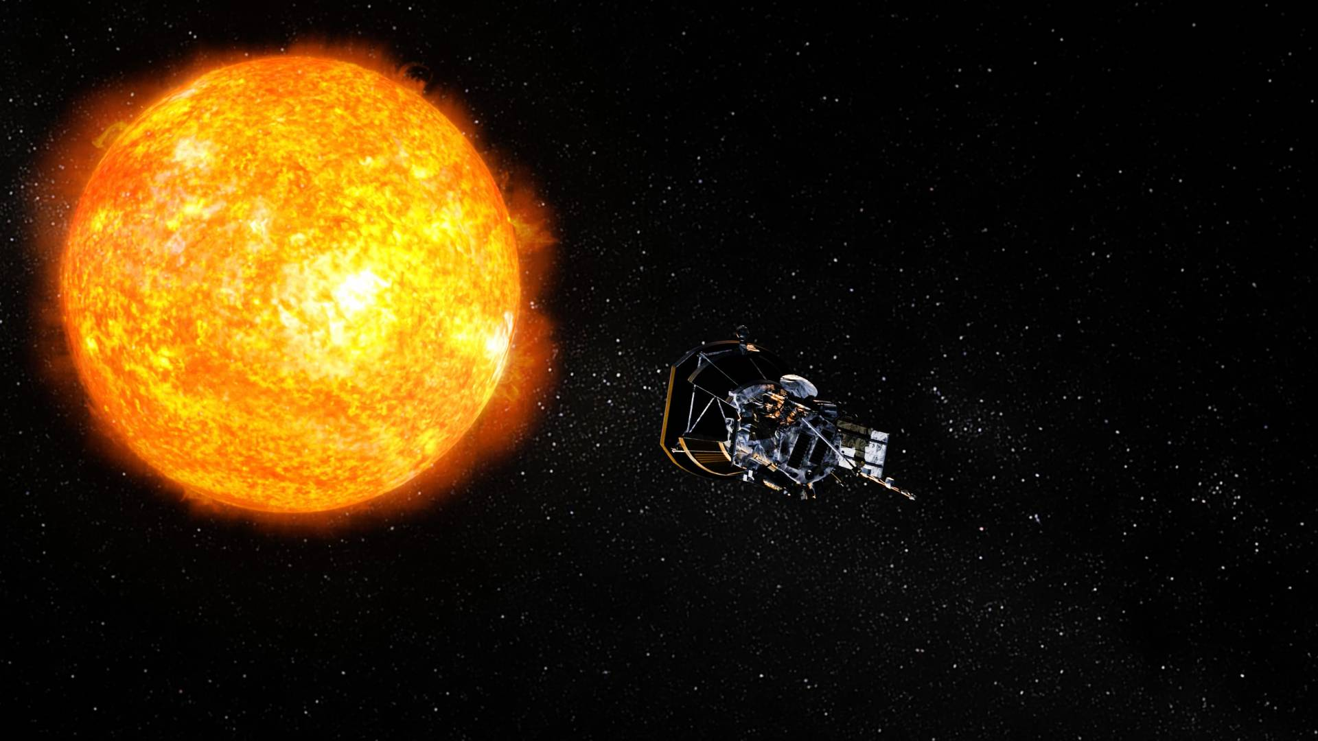 Princeton in space Princetonled instrument prepares to kiss the sun