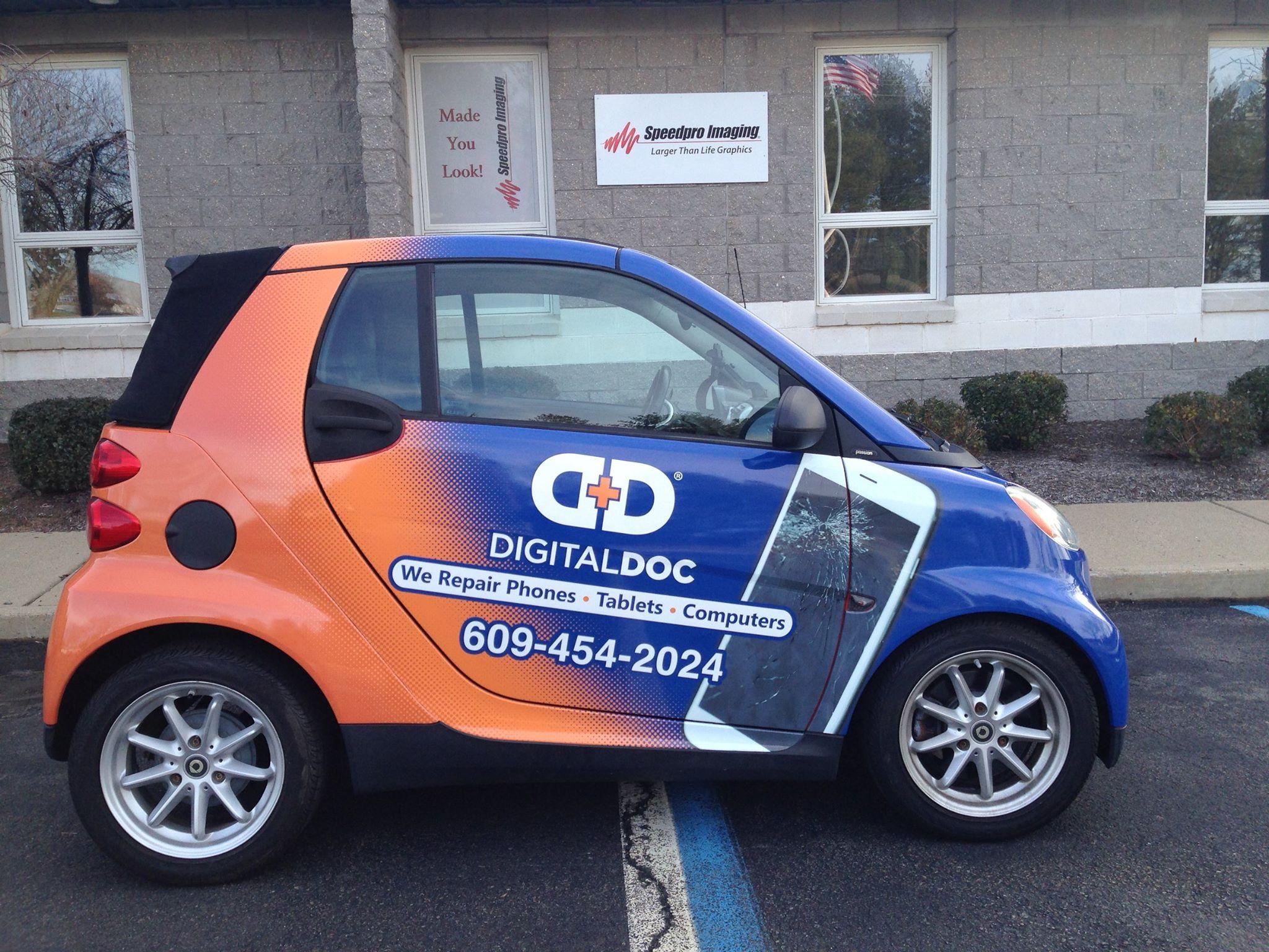 Digital Doc Vehicle Wrap