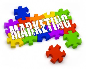 Marketing Puzzle Graphic