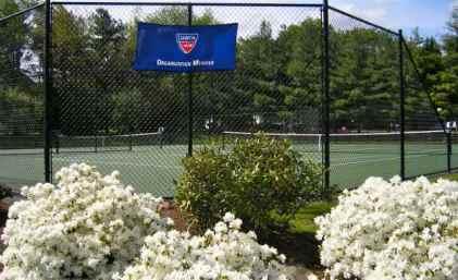 Hard Courts at Princeton Racquet Club