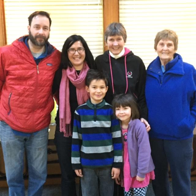 Kim Crusey family