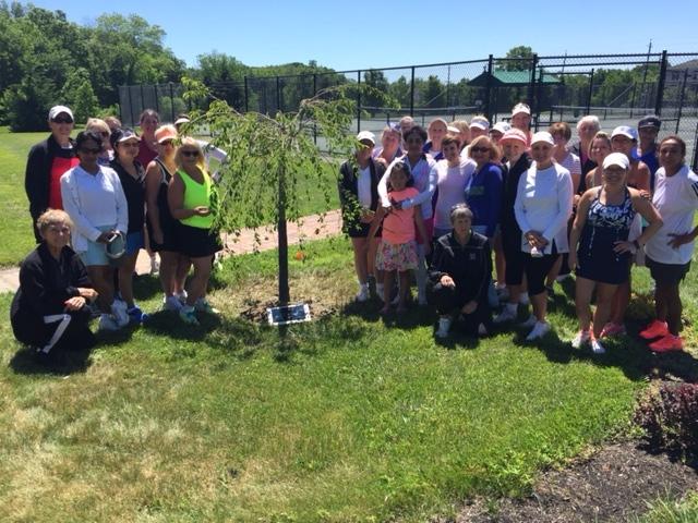 Dedication of Willow Tree, Irene Gross
