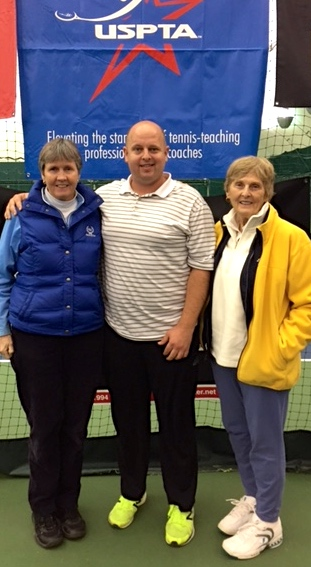 Cos, Kevin and Judy USPTA Middle States Conference