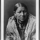 Žena iz plemena Čejen 1910