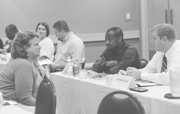 Local principals attend leadership training