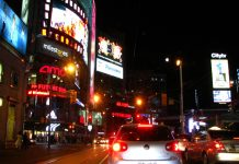 """Dundas Square"" by Michael Gil liscened under CC BY 2.0 (via Flickr)"