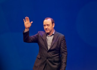 """""""Kevin Spacey"""" by Paul Hudson liscensed under CC BY 2.0 (via Flickr)"""