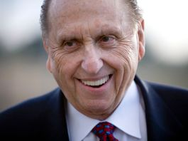 A portrait of Thomas S. Monson