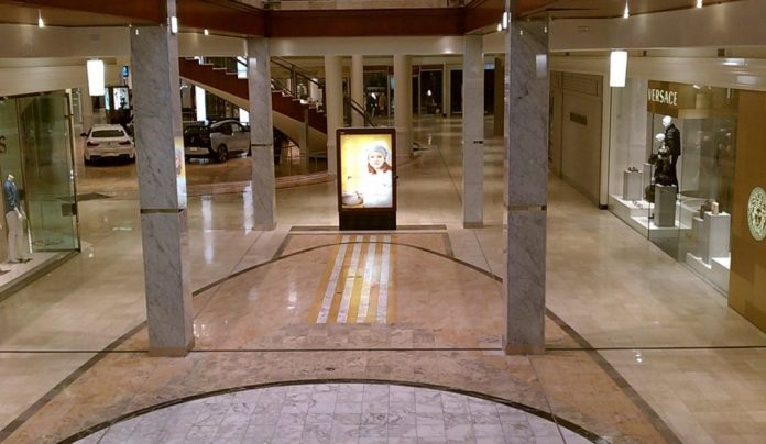 An image of an abandoned mall.