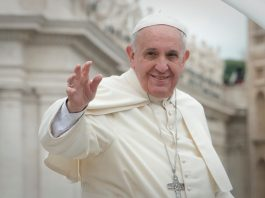 A photo of Pope Francis