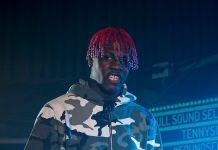 A photo of mumble rapper Lil Yachty at a concert