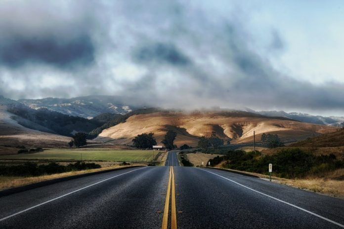 Photo of a California highway