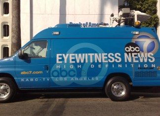 "photo of ABC ""eyewitness news"" news van"