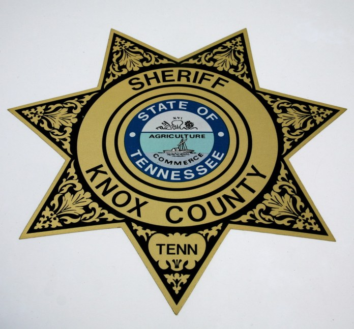 photograph of Knox County Sheriff's seal