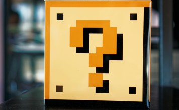 photograph of videogame mystery box