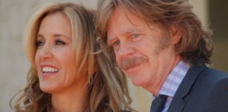 photograph of Felicity Huffman and William H Macy