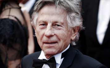 photograph of Polanski at Cannes