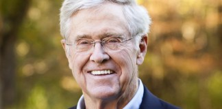 Charles Koch portrait photograph