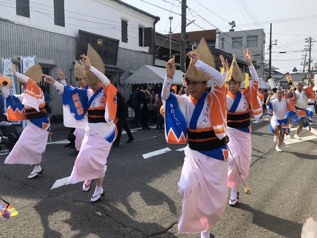 紀州連の阿波踊り