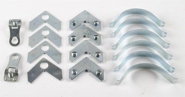 Contenido incluido en el marco de aluminio desmontable