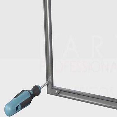 Indicaciones montaje marco de aluminio desmontable 01