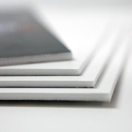 foto en cartón pluma blanco - foto foam blanco