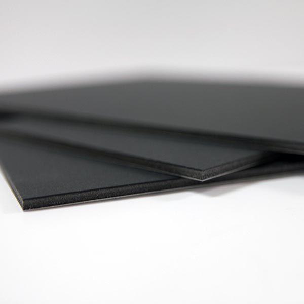 Foto en cartón pluma negro - foto foam negro