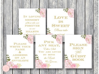 pink-gold-peonies-wedding-decoration-sign-bridal-shower