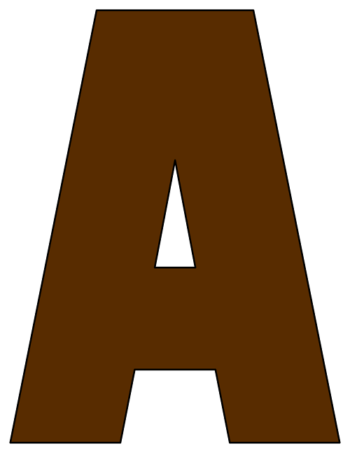 Alphabet Letters Print And Cut Out
