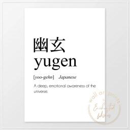 Yugen definition print