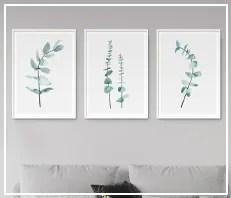 Botanical Leaf Prints & Printables