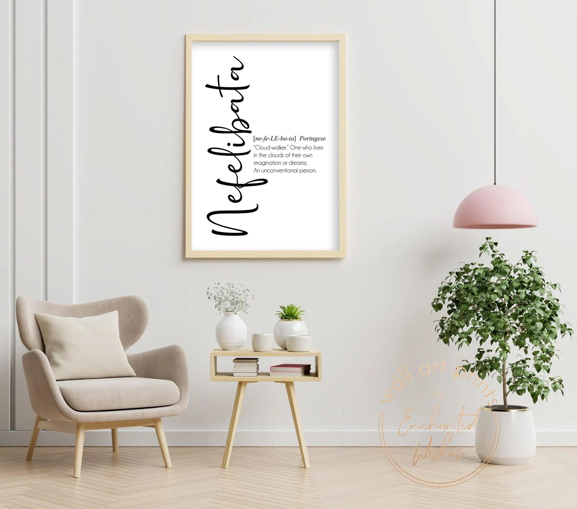 Nefelibata definition print
