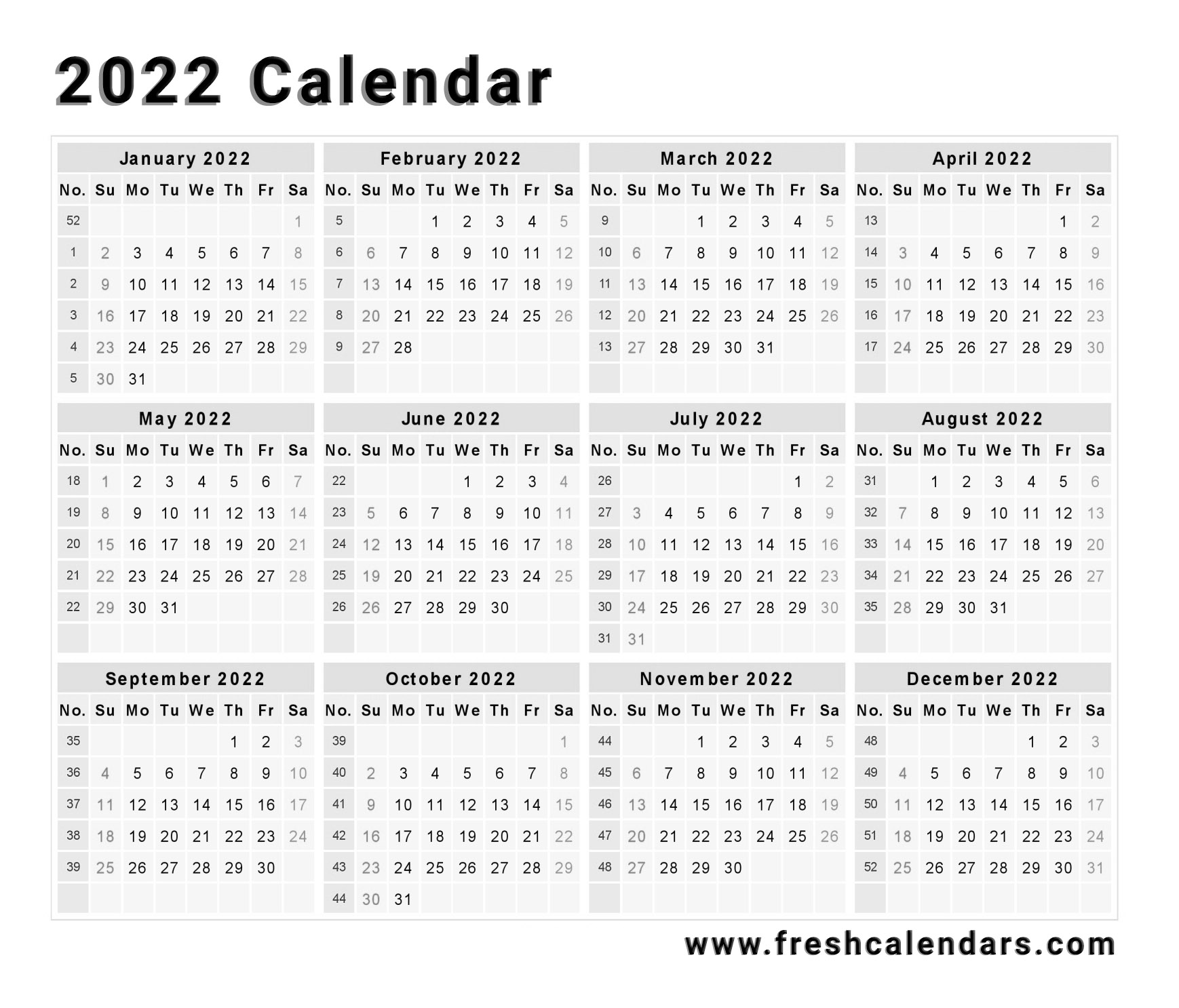 It seems like everyone is busier these days, and keeping up with everything from work deadlines to kids' sports practices to your pet's vet appointments can make things complicated — there's a lot to juggle, after all. 2022 Calendar - printable week calendar