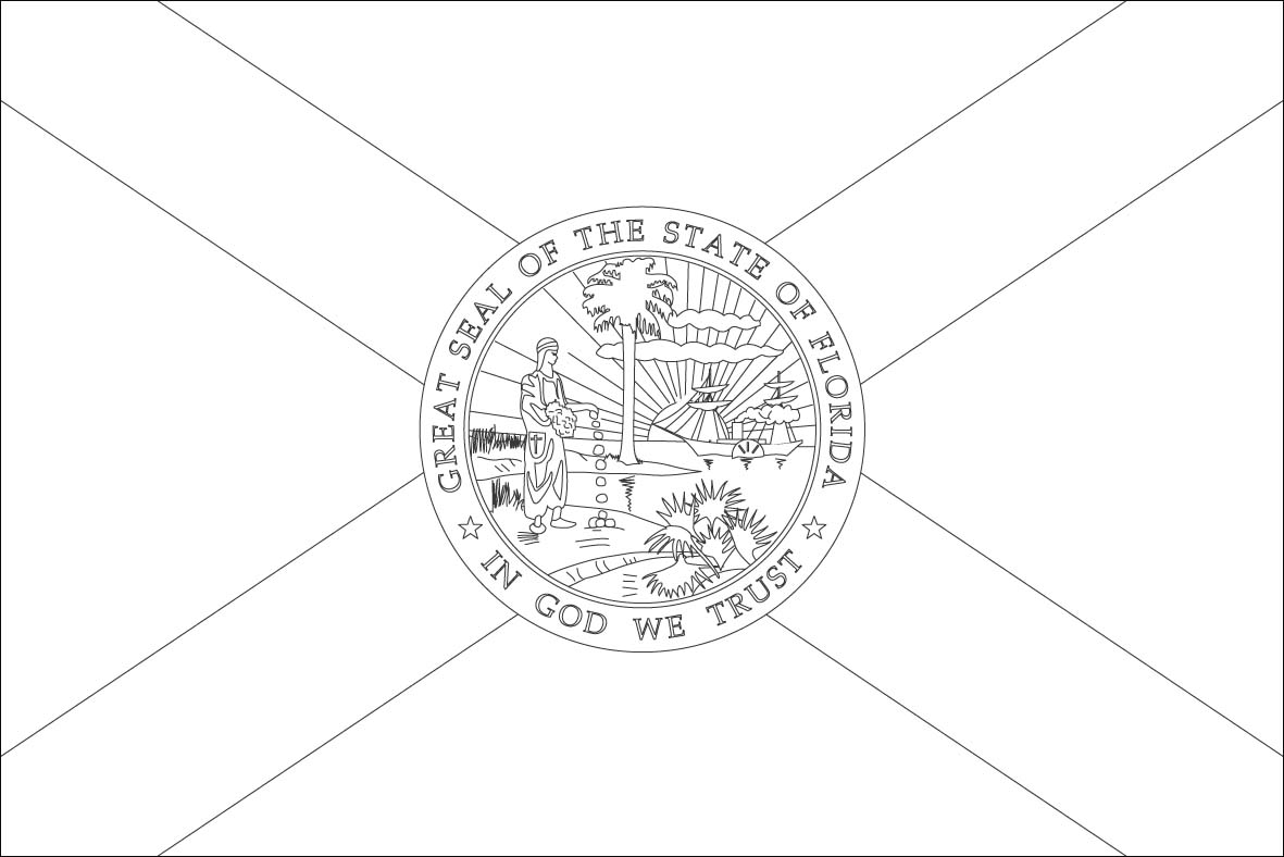 3 Best Images Of Printable State Coloring Pages