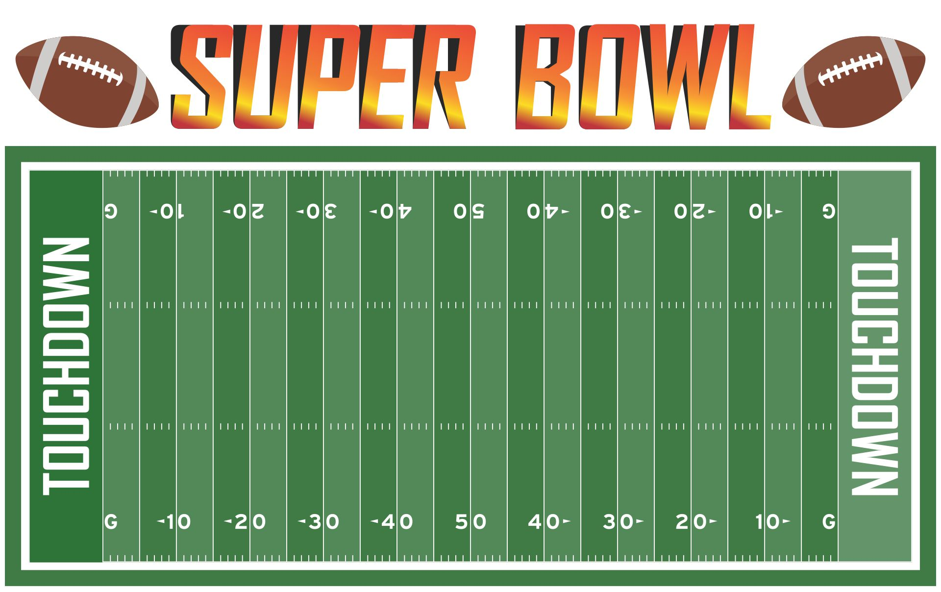 7 Best Images Of Free Printable Football Field