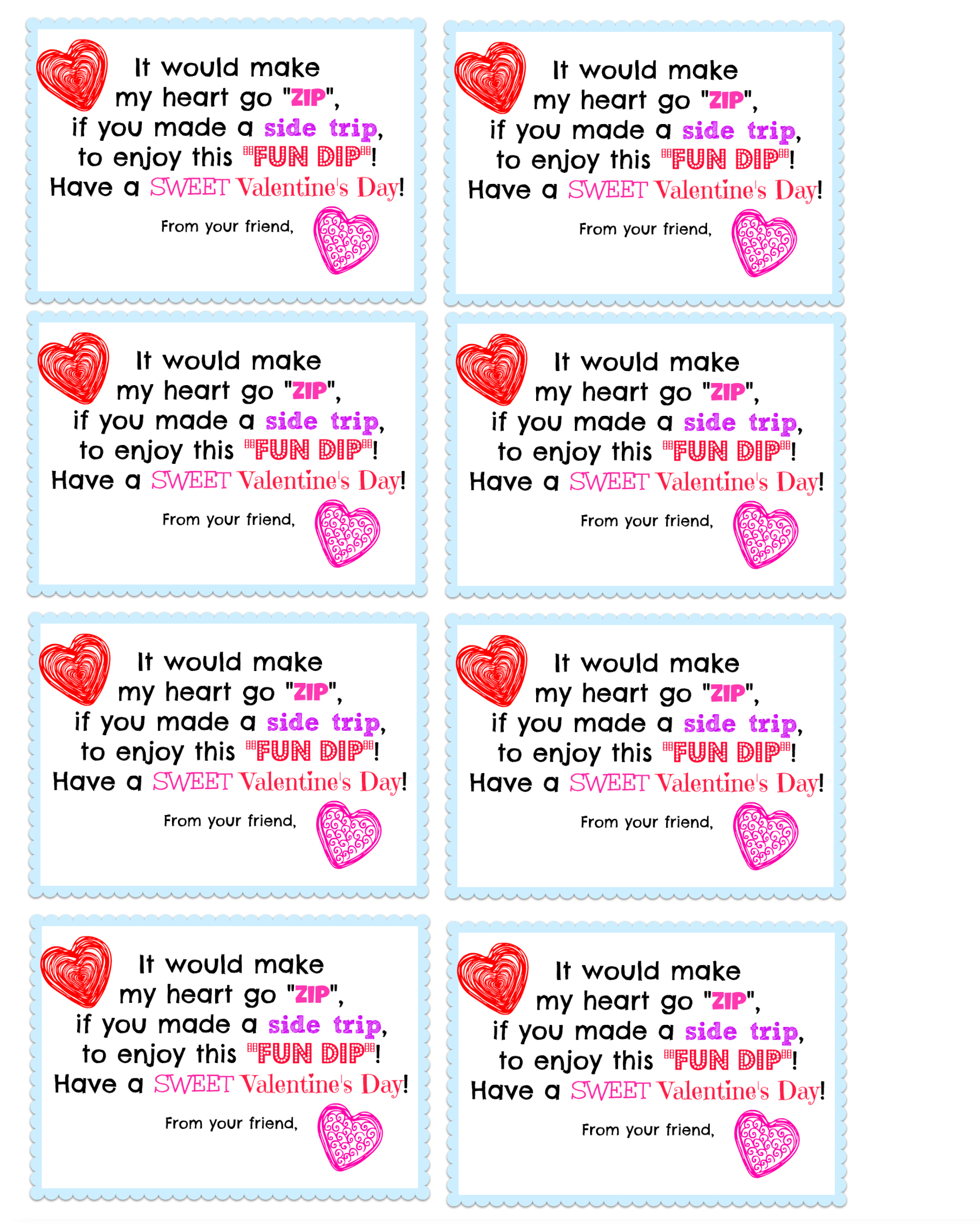 8 Best Images Of Printable Valentine Day Card Saying