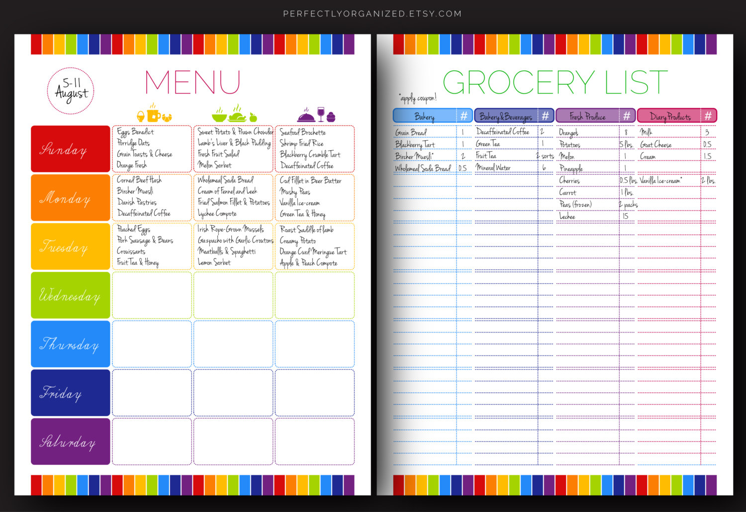 7 Best Images Of Printable Household Shopping List