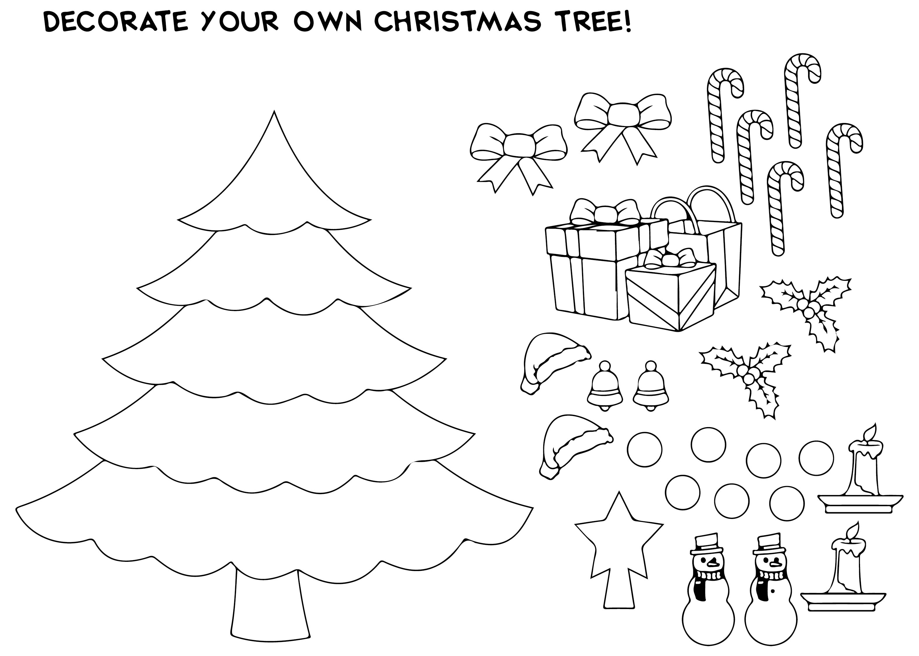6 Best Images Of Black And White Christmas Card Templates