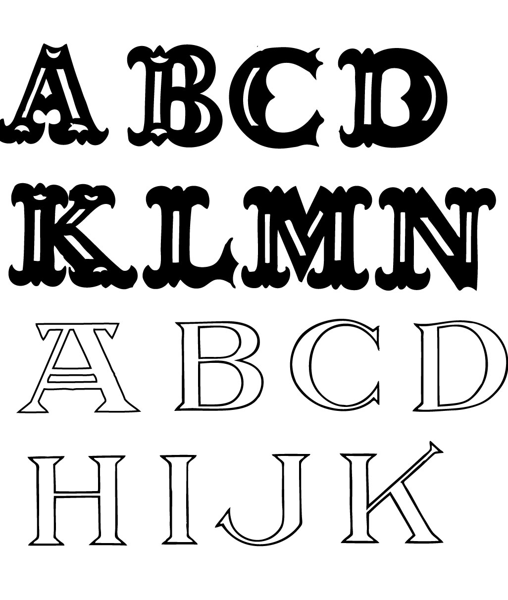 Best Block Letter Font Pictures To Pin