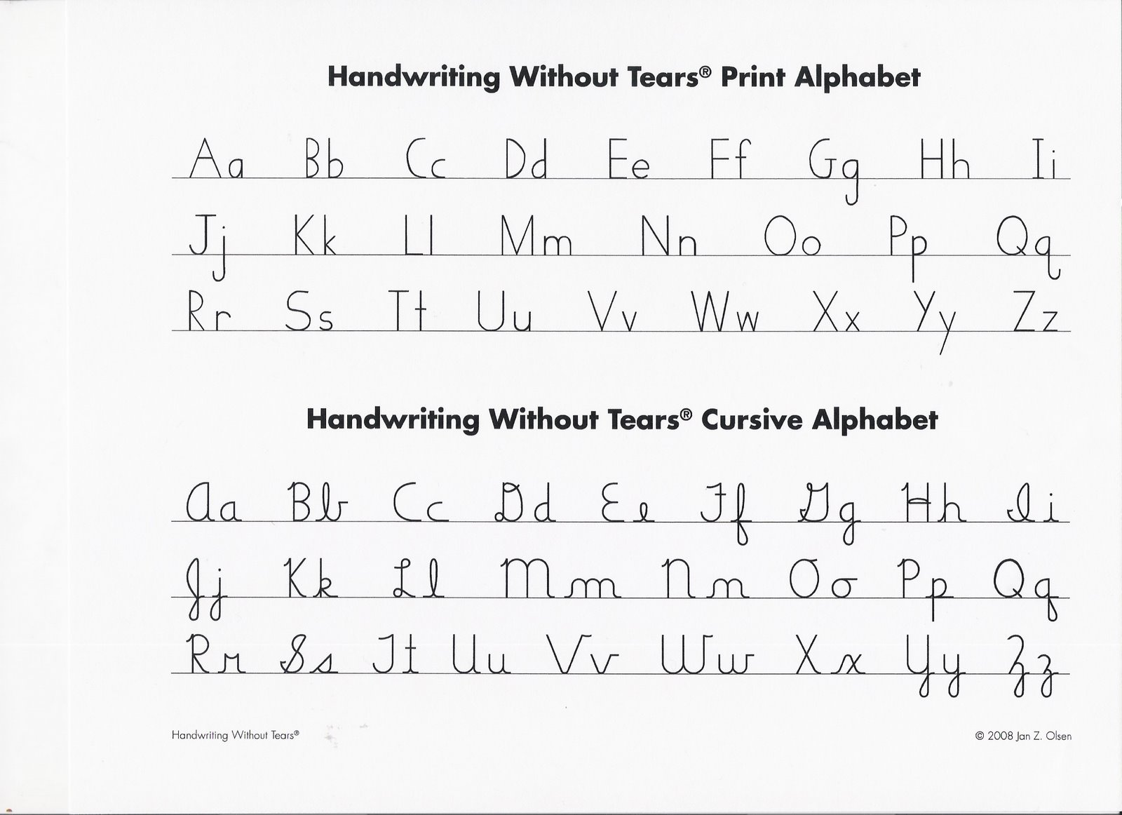 Printables Handwriting Without Tears Cursive Worksheets Gotaplet Thousands Of Printable Activities