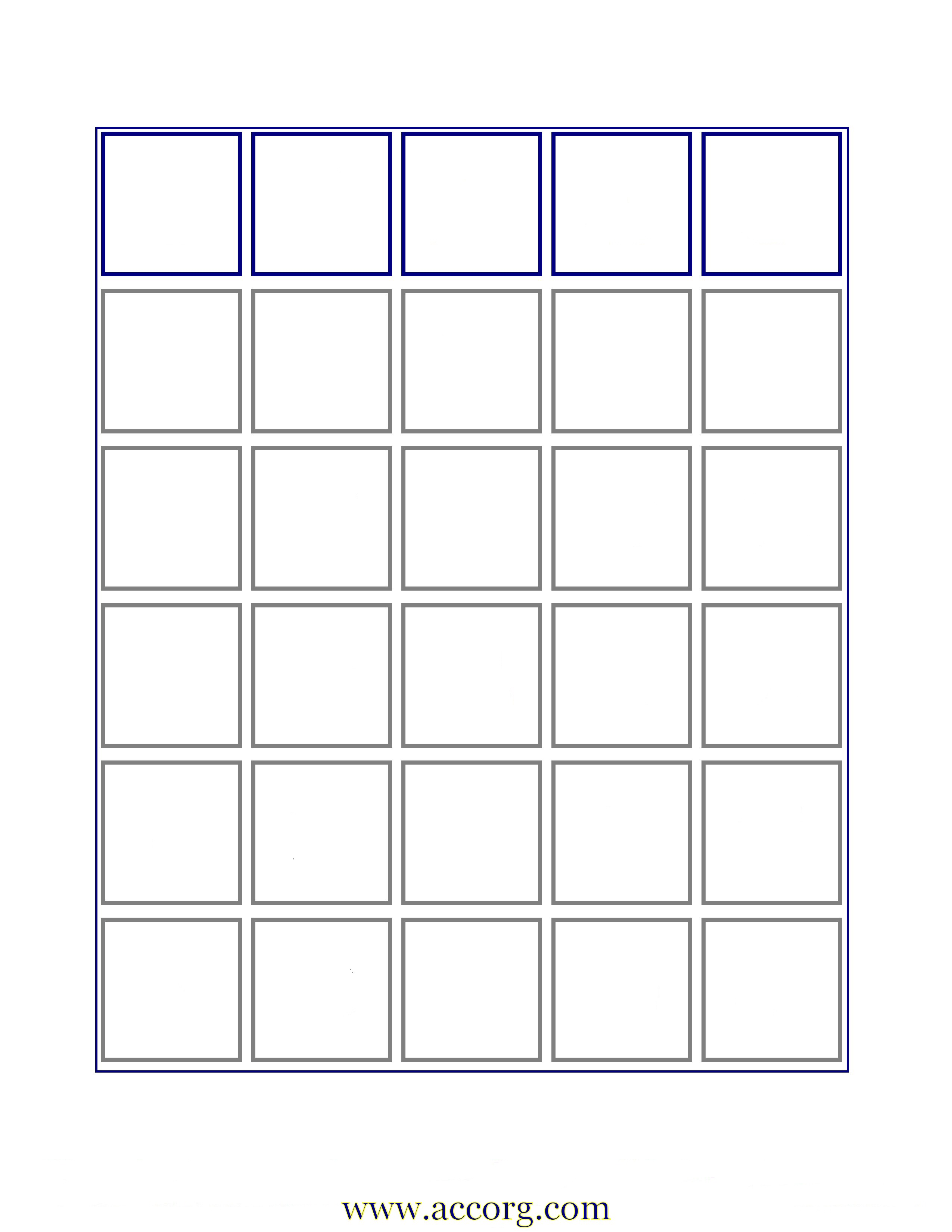 7 Best Images Of Free Printable Bingo Card Template