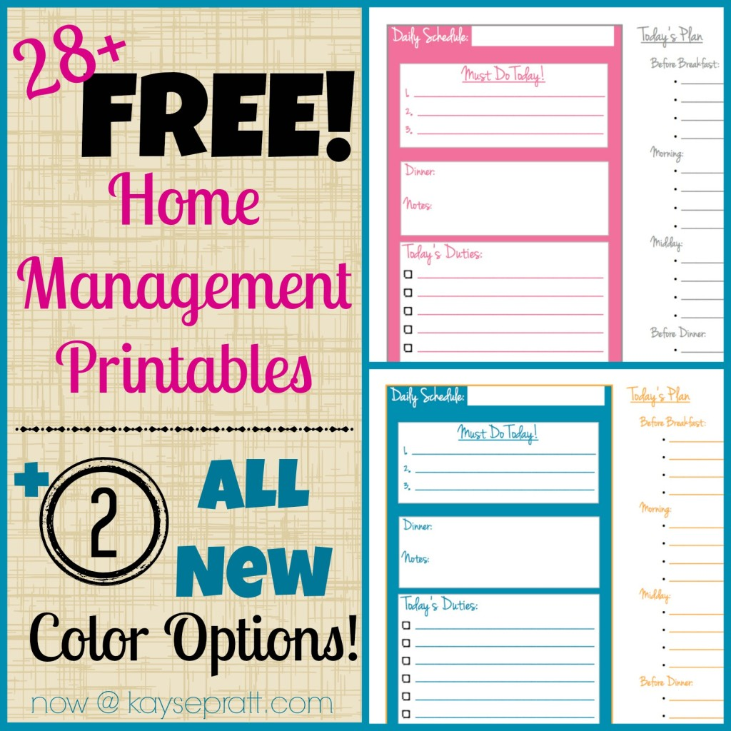 5 Best Images Of Cute Home Printables