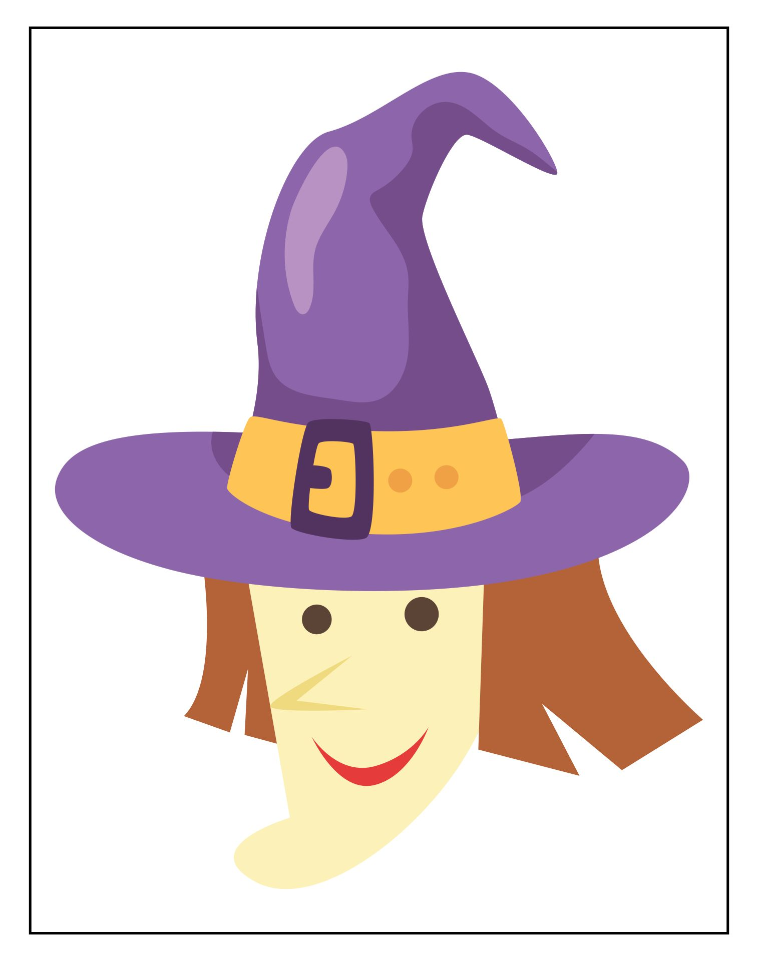 7 Best Images Of Halloween Printables And Craft Patterns