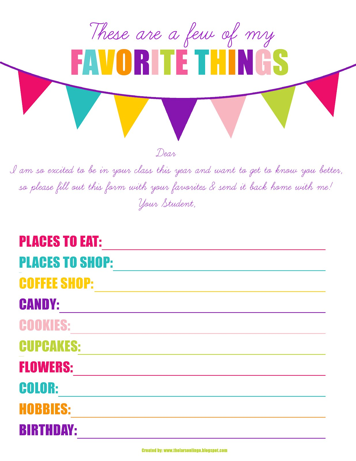 6 Best Images Of Teacher Wish List Printable