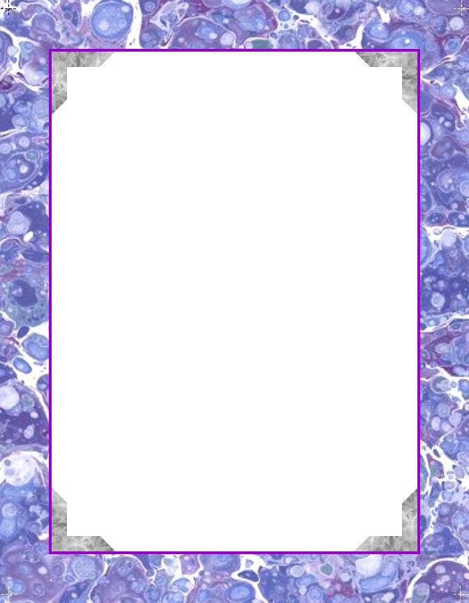 Printable Border Frame