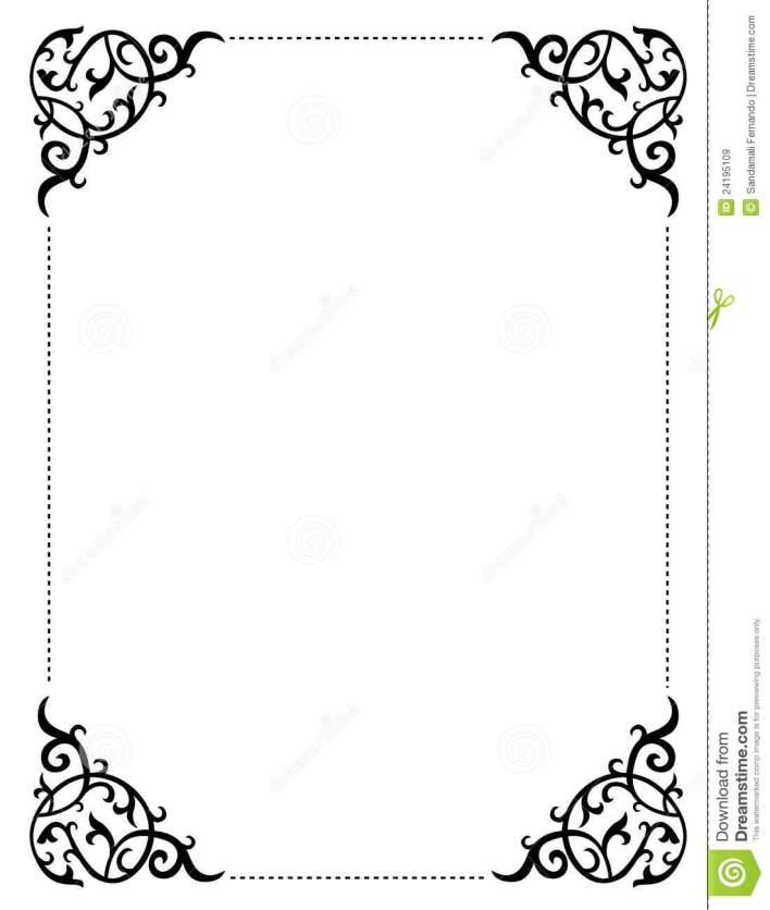 Wedding Invitation Border Frame