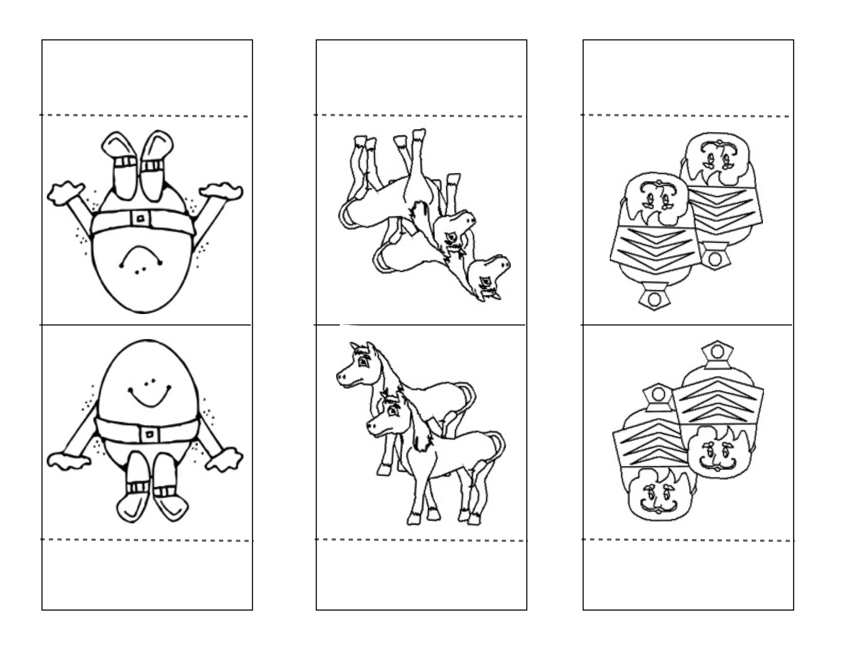 4 Best Images Of Humpty Dumpty Sequencing Printable